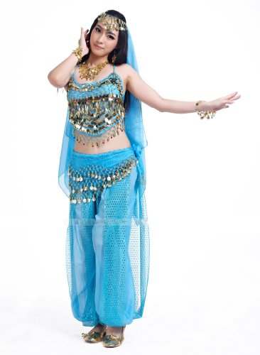 Seawhisper Belly Dance Costumes Halloween Carnival costume set