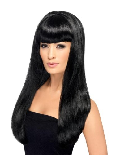 Smiffy'S Babelicious Wig, Black, One Size