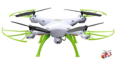 Syma X5HC 2.4Ghz 4CH RC 3D Roll Altitude Hold Headless Quadcopter Drone UFO with Hover Function 2MP HD Camera