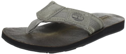 Timberland EK Flip Flop FTM_EK FlipFlop Fabric/Leather Thong Flip-Flops Men brown Braun (Taupe) Size: 50