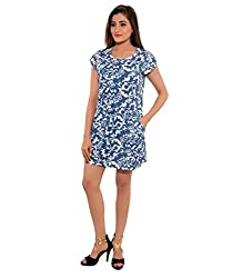 Nation Global Printed Blue Tunic