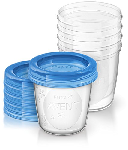 Philips Avent - Set de recipientes para leche materna