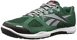 Reebok Men\'s R Crossfit Nano 2.0 Training Shoe, Dark Green/Flat Grey/White/Black, 10.5 M US