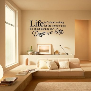 Wandtattoo Spruch Life
