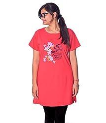 GLASGOW Women's Casual Printed Tunic