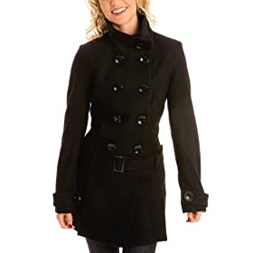 G by GUESS Manhattan Wool Trench Coat