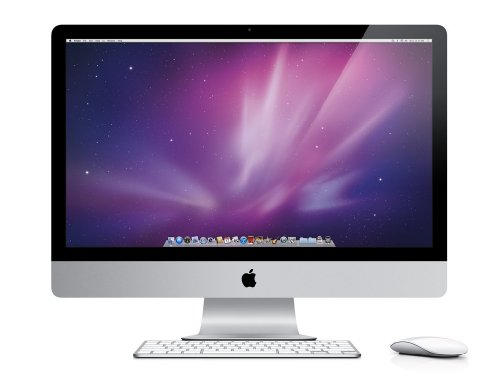 New Apple iMac 27 inch All-In-One Desktop PC (Intel Core i5 3.1GHz Quad-Core Processor, 2X2GB RAM, 1TB HDD, AMD Radeon HD 6970M with 1GB graphics) (Launched May 2011)
