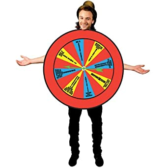 Morphsuits Men's Morphcostume Co Wheel Of Misfortune Unisex Costume