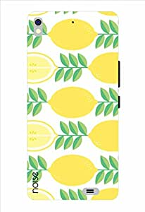 Noise Squeeze Lemon Printed Cover for Gionee Elife S5.1