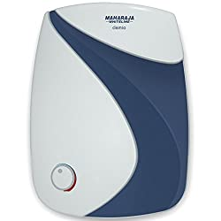 Maharaja Whiteline Clemio10 10-Litre Water Heater (White and Blue)