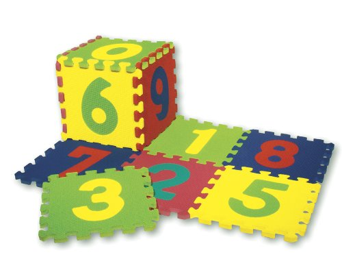 Cheap Chenille Kraft WonderFoam® Numbers Puzzle Mat (B003E7FAA6)