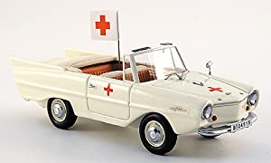 Amphicar Ambulance, 1961, Model Car, Ready-made, Neo Scale Models 1:43