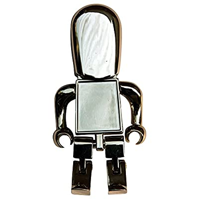 16 GB Pen Drive Robot Shape Silver Color USB 2.0 Pen Drive MT1010