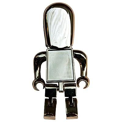 16 GB Pen Drive Robot Shape Silver Color USB 2.0 Pen Drive MT1010