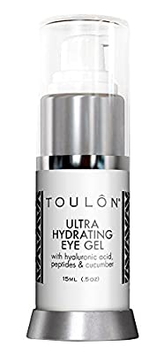 Best Cheap Deal for Best Eye Gel for Dark Circles and Puffiness. Reduce Wrinkles, Bags & Crows Feet. Natural & 100 Pure Firming Anti Aging Gel for Men and Women with Aloe Vera & Soothing Cucumber.,15ml (.5oz) by TOULON - Free 2 Day Shipping Available