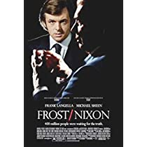 FROST/NIXON ORIGINAL MOVIE POSTER