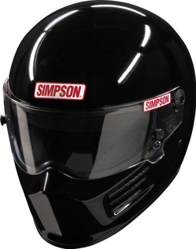Simpson 4200022 Bandit Black Medium SA10 Helmet