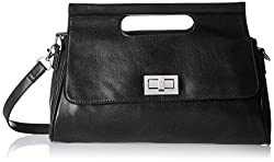 Baggit Women's Handbag (Black) (2058723)