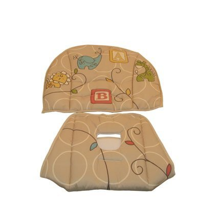Fisher Price Home & Away 3-in-1 High Chair - Animal Krackers Collection - Replacement Pad (Fisher Price High Chair And Swing compare prices)