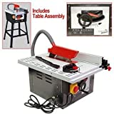 Trademark Tools GRYD2Z0 GreenPower 10-Inch Table Saw with Stand
