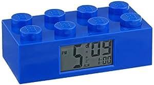Lego - 9002151 - Accessoire Jeu de Construction - Reveil Brique Geante - Bleu