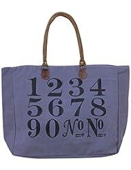 Leacan Bags Tote Bag (Blue) - B01B7QSXVS