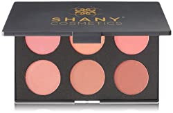 SHANY Cosmetics Fuchsia 6 Color Blush Palette 8 Ounce