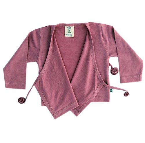 かわいいピンクのカーディガン ベビー服 ボレロ Pipi Child (ピピチャイルド) 1?2歳児用