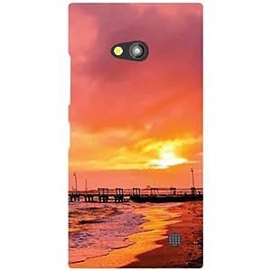 Nokia Lumia 730 Back Cover - Glared Up Designer Cases