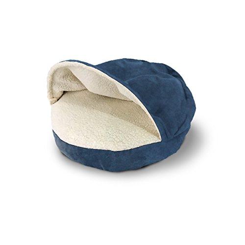 Luxurious-Polyester-Faux-Sheepskin-Snuggery-Burrow-Orthopedic-Dog-pet-Bed-Sleeping-Bag-Tent