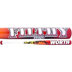 Buy 2014 Worth Filthy HPS ASA ONLY Midload Softball Bat 34 length 28 ounce by Worth