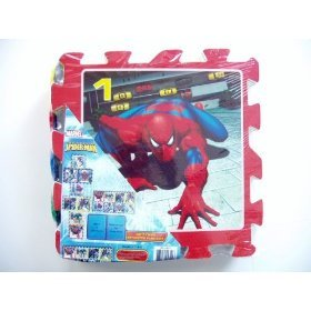 Cheap WHAT KIDS WANT Amazing Spiderman Soft Foam Hopscotch Play Mat (B002C7HZ4S)