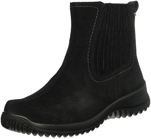 Legero Softboot Halb - Stivaletti corti imbottiti donna, colore nero, taglia 41 EU (7 UK)