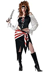 California Costumes Womens Ruby the Pirate Beauty Costume Large 10-12
