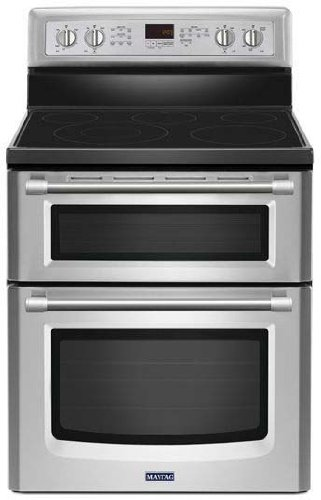 Electric Stove With Convection Oven back-21467