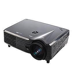 Magideal Home Theater Portable Mini LED LCD Projector 1080P FHD EU Plug