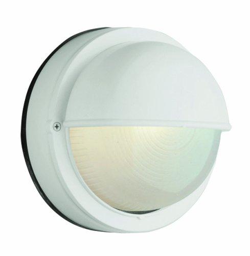 Trans Globe Lighting 4121 RT 8-Inch 1-Light Outdoor Bulkhead, Rust