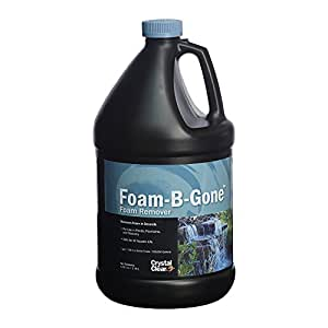 CrystalClear Foam-B-Gone, Foam Remover, 1 Gallon