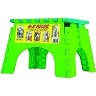 B & R Plastics 101-6TT E-Z Foldz Folding Step Stool-FOLDING STEP STOOL