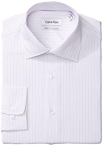 Calvin Klein Regular Fit Stripe 男士纯棉格子衬衫
