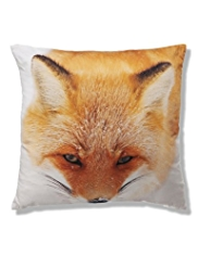 Fox Print Cushion