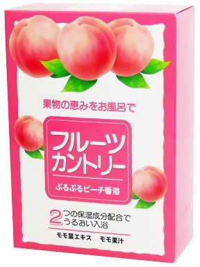 フルーツカントリー ぷるぷるピーチ香浴 25g×5包 :