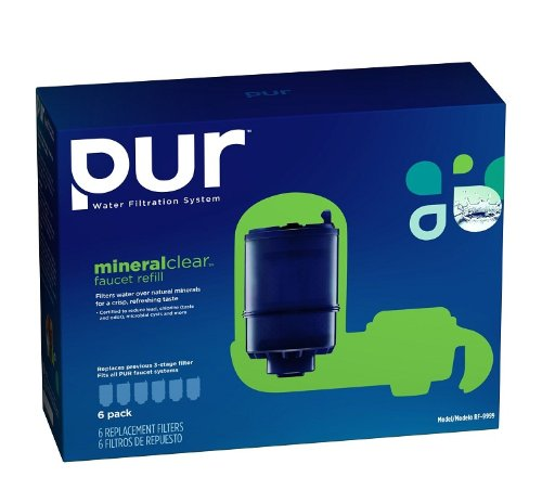 PUR MineralClear Faucet Refill RF-9999, 6 Pack (Pur Faucet Refill Mineralclear compare prices)