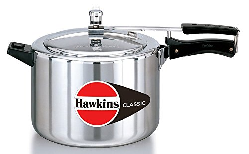 Hawkins Classic Aluminum 8.0 Litre Pressure Cooker (Indian Aluminum Pressure Cooker compare prices)