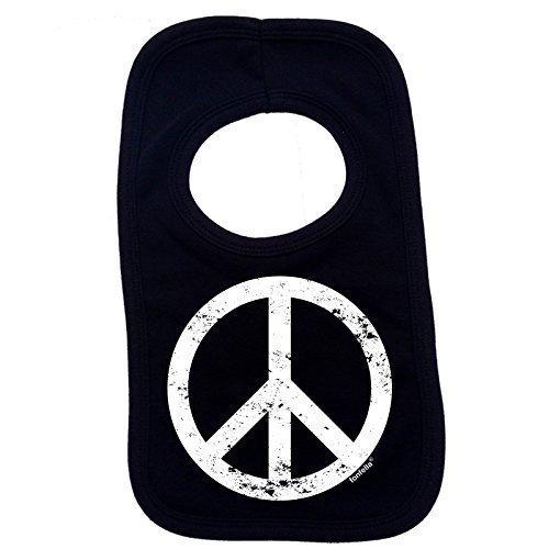123t-Baby-PEACE-DESIGN-Baby-Ltzchen-schwarz-Einheitsgre
