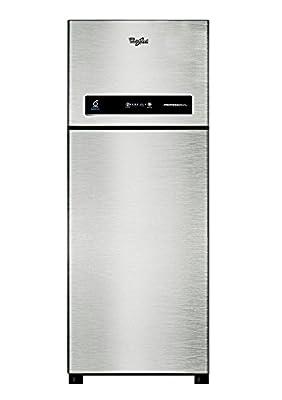 Whirlpool Pro 355 ELT 3S Frost-free Double-door Refrigerator (340 Ltrs, Illusia Steel)