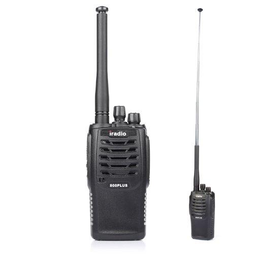 Iradio I-800 Plus 136-174/400-470Mhz Two-Way Radio Walkie Talkie 8W High Output