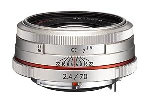 Pentax K-Mount HD DA 70mm f/2.4 70-70mm Fixed Lens for Pentax KAF Cameras (Limited Silver)