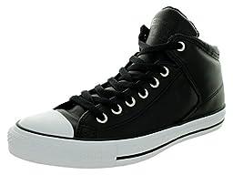 Converse Unisex Chuck Taylor High Street Black/Black Casual Shoe 9.5 Men US / 11.5 Women US