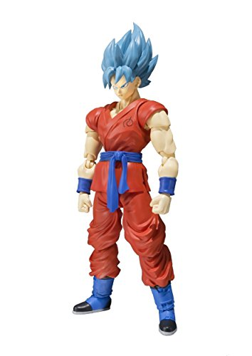 Bandai - Figurina Dragon Ball Z - Son Goku Resurrection F Sh Figuarts 16Cm
